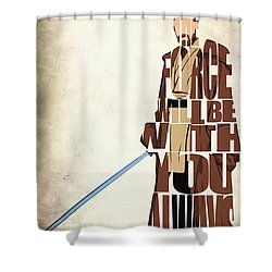 Obi-wan Kenobi - Ewan Mcgregor Shower Curtain