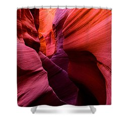 Obscure Escalante Shower Curtain by Chad Dutson