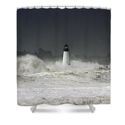 Ocean A Fury Shower Curtain