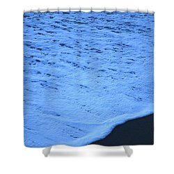 Ocean Blues Shower Curtain by Amy Gallagher