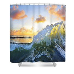 Ocean Bouquet Shower Curtain