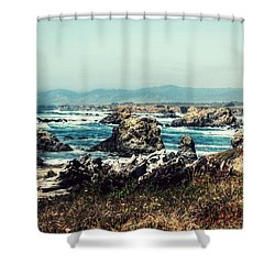Ocean Breeze Shower Curtain by Melanie Lankford Photography