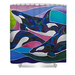 Ocean Gypsies Shower Curtain by Sherry Shipley