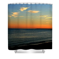 Ocean Hues No. 2 Shower Curtain