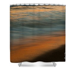 Carlbad Wave Impressions Shower Curtain