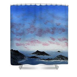 Ocean Islands Shower Curtain