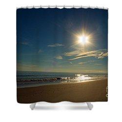 Ocean Isle Beach Sunshine Shower Curtain
