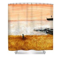 Ocean Mist 3 Shower Curtain