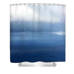 Ocean Of Existence Shower Curtain by Karon Melillo DeVega