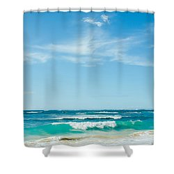 Shower Curtain featuring the photograph Ocean Of Joy by Sharon Mau