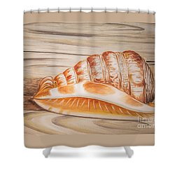 Ocean Shell Shower Curtain