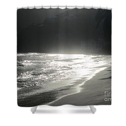 Shower Curtain featuring the photograph Ocean Smile by Fiona Kennard