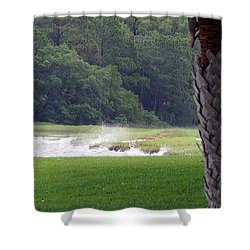 Ocean Spray At Hilton Head Island Shower Curtain
