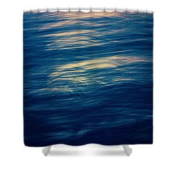 Shower Curtain featuring the photograph Ocean Twilight by Ari Salmela