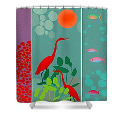 Ocean Views - Limited Edition Of 15 Shower Curtain