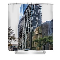 Oct 2014 Ne View Shower Curtain by Steve Sahm