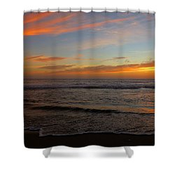 Shower Curtain featuring the photograph October Beauty by Dianne Cowen