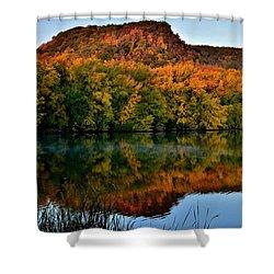 October Bluffs Shower Curtain