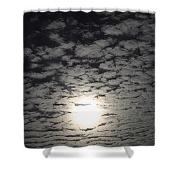 October Moon Shower Curtain