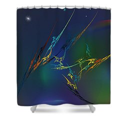 Ode To Joy Shower Curtain by David Lane