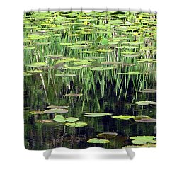 Shower Curtain featuring the photograph Ode To Monet by Chris Anderson