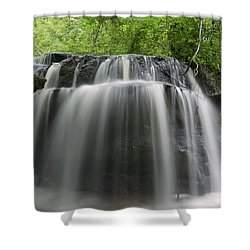 Odom Creek Waterfall Georgia Shower Curtain
