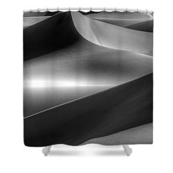 Of Light And Shadow Shower Curtain by Bob Christopher