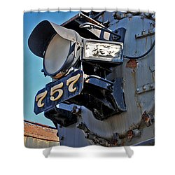 Of Rust And Power Shower Curtain by Skip Willits