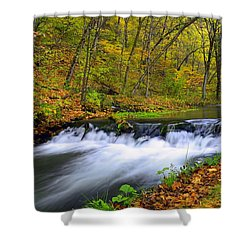 Off The Beaten Path Shower Curtain by Bonfire Photography