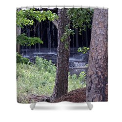 Off The Beaten Path Shower Curtain by John Glass