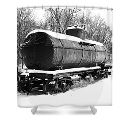Shower Curtain featuring the photograph Off The Beaten Track by Sara  Raber