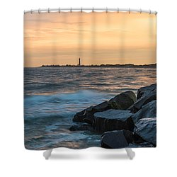 Off The Cape Shower Curtain
