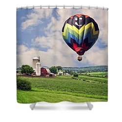 Off To The Land Of Oz Shower Curtain