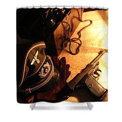 Officer's Option   Shower Curtain