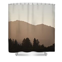 #offthegrid Shower Curtain by Becky Furgason