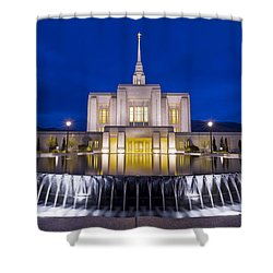 Ogden Temple II Shower Curtain