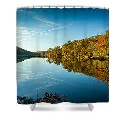 Ogle Lake Shower Curtain