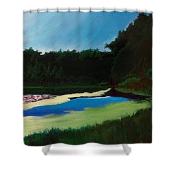Oglebay Park - Palmer Course Shower Curtain