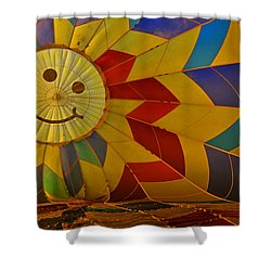 Shower Curtain featuring the photograph Oh Happy Day by Mike Martin