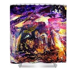 Oh Holy Night  Shower Curtain