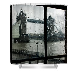 Oh So London Shower Curtain