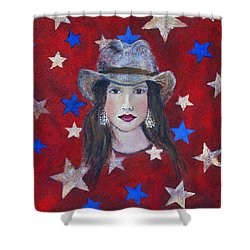 Oh Suzannah Shower Curtain by The Art With A Heart By Charlotte Phillips
