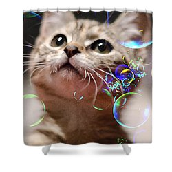 Oh What A Wonderful World Shower Curtain