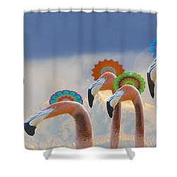 Shower Curtain featuring the photograph Oh When The Saints Go Marching In by I'ina Van Lawick