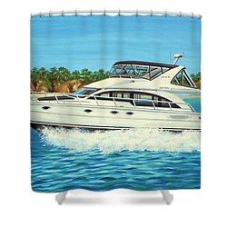 Ohana Pacific Shower Curtain
