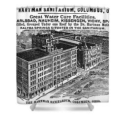 Ohio: Sanitarium, 1901 Shower Curtain by Granger