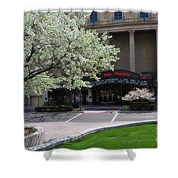D45l42 Ohio Theatre Photo Shower Curtain