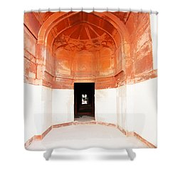 Oil Painting - Doorway In Humayun Tomb Shower Curtain