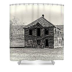 Okanogan Homestead - Washington Shower Curtain by Daniel Hagerman
