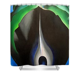 O'keeffe's Jack In The Pulpit No. V Shower Curtain